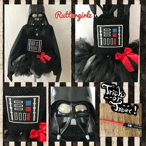 Miss Darth Vader - Girls Size S